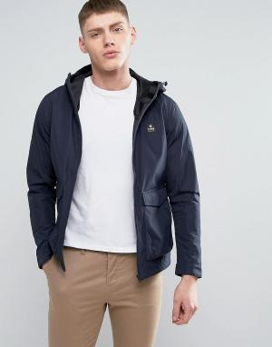Jack & Jones Куртка-дождевик. Цвет: темно-синий