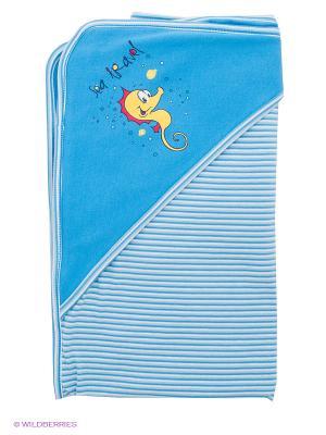 Одеяло PlayToday. Цвет: синий, голубой, белый