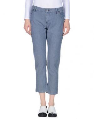 Повседневные брюки ..,MERCI. Цвет: грифельно-синий