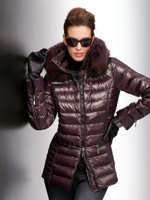 Куртка Madeleine. Цвет: бордовый