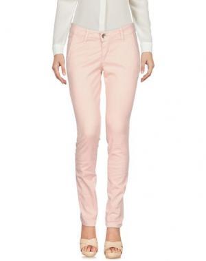 Повседневные брюки XTSY. Цвет: розовый