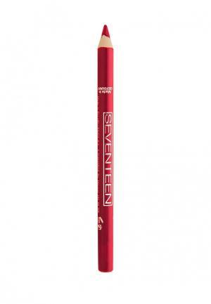 Карандаш для губ Seventeen. Цвет: красный
