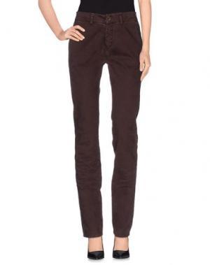Повседневные брюки REIGN. Цвет: баклажанный