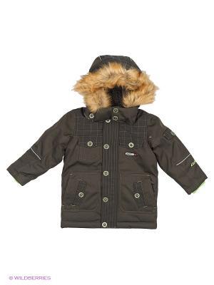 Куртка Gusti. Цвет: темно-зеленый