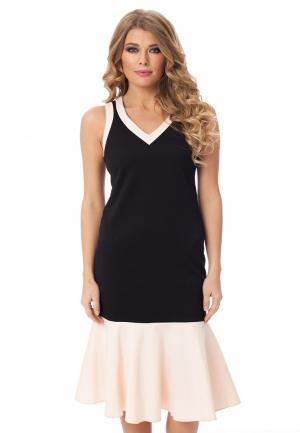 Платье Gloss. Цвет: черный