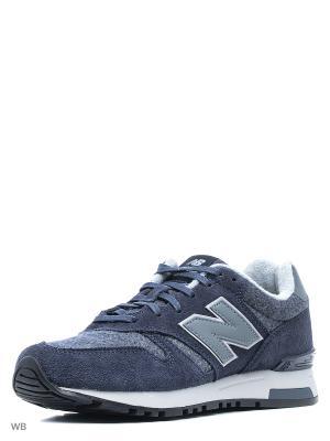 Кроссовки NEW BALANCE 565. Цвет: темно-синий