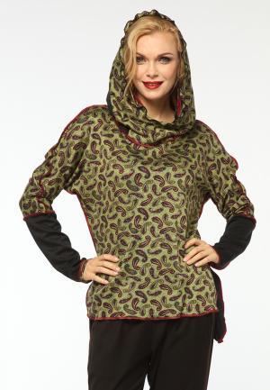 Худи Kata Binska. Цвет: зеленый