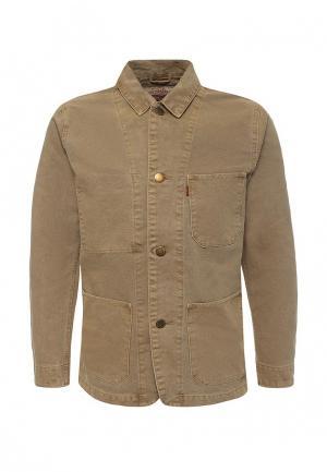 Куртка джинсовая Levis® Levi's®. Цвет: бежевый