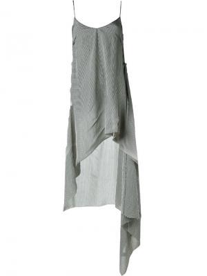 Платье на бретельках Yang Li. Цвет: чёрный