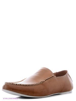 Обувь Markos. Цвет: рыжий