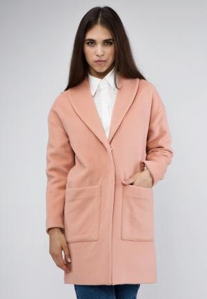 Пальто MirrorStore. Цвет: оранжевый