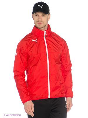 Куртка Rain Jacket Puma. Цвет: красный