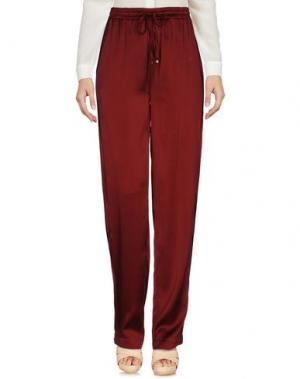 Повседневные брюки ALYSI. Цвет: красно-коричневый
