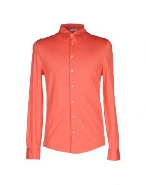 Pубашка GRAN SASSO. Цвет: коралловый