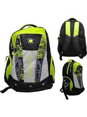 Рюкзак ACTION!. Цвет: черный, серый