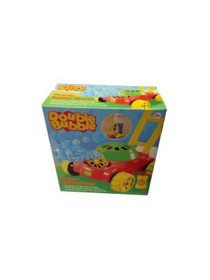 Игрушка с мыльными пузырями Double Bubble - Газонокосилка HTI. Цвет: лазурный, зеленый, красный
