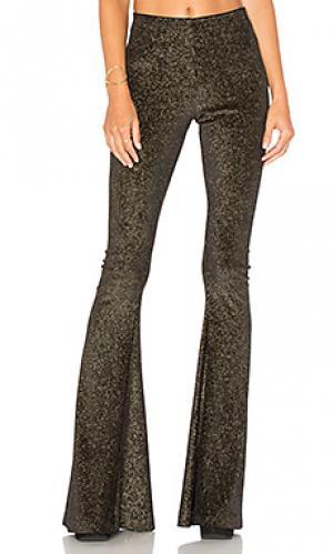 Расклешенные джинсы bam Show Me Your Mumu. Цвет: черный