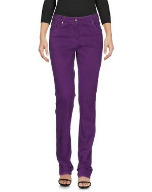 Джинсовые брюки CONTE OF FLORENCE. Цвет: фиолетовый