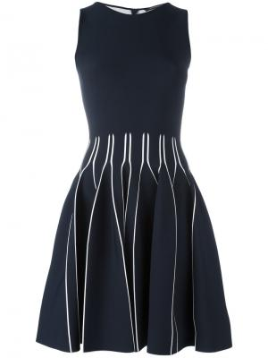 Платье Flora Antonino Valenti. Цвет: синий
