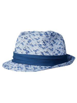 Шляпа Oodji. Цвет: синий