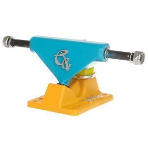 Подвески для скейтборда пластборда 2шт.  Blue/Yellow 3.5 (8.9 см) Вираж. Цвет: желтый,голубой