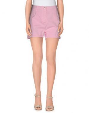 Повседневные шорты YES ZEE by ESSENZA. Цвет: розовый
