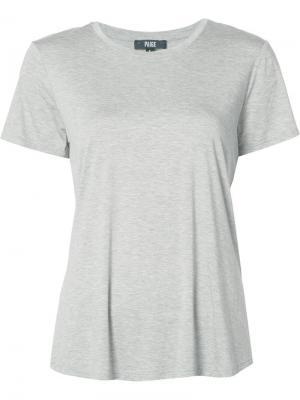 Базовая футболка Paige. Цвет: серый