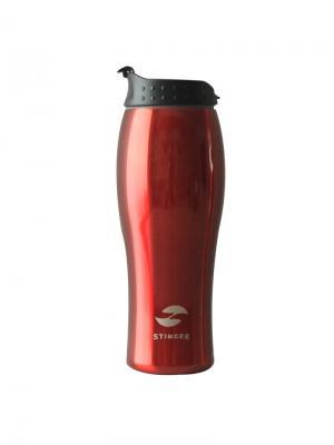 Термокружка  0,4 литра Stinger. Цвет: красный