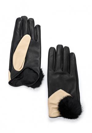 Перчатки Twin-Set Simona Barbieri. Цвет: черный