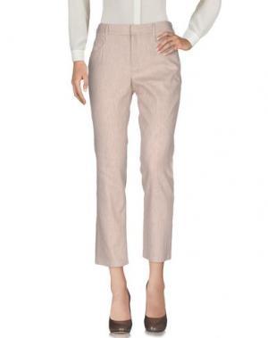 Повседневные брюки THEYSKENS' THEORY. Цвет: бежевый