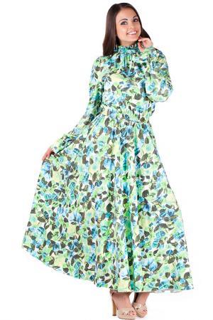 Платье Mannon. Цвет: голубой