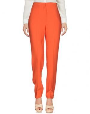 Повседневные брюки GENNY. Цвет: красный