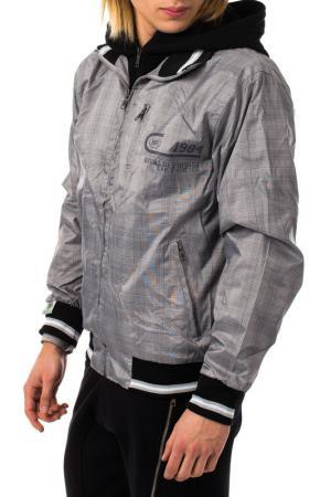 Куртка RIVALDI. Цвет: серый