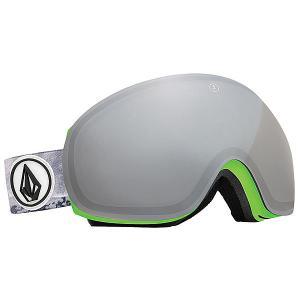 Маска для сноуборда  EG3 Co-lab Bronze/Silver Chrome Electric. Цвет: белый,серый