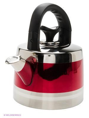 Чайник металлический Bekker. Цвет: красный