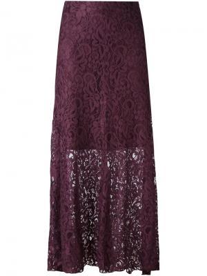 Кружевная юбка  IM Isola Marras I'M. Цвет: розовый и фиолетовый