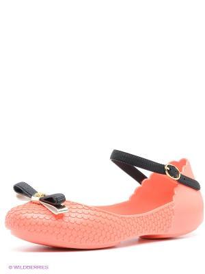 Балетки ZAXY. Цвет: коралловый