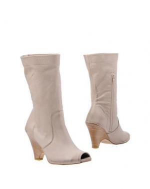 Полусапоги и высокие ботинки J.BORN. Цвет: голубиный серый