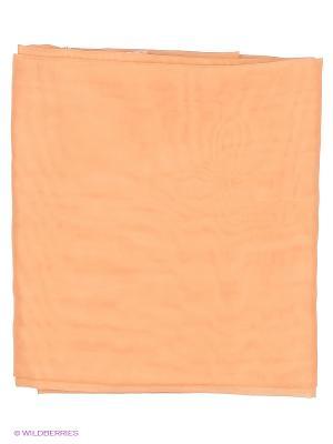Вуаль персик Королевский пион 200х270 см T&I. Цвет: персиковый