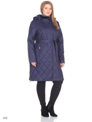 Пальто Chic de Femme. Цвет: синий