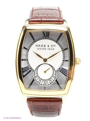 Часы SFYH 006 XSA HAAS & Cie. Цвет: темно-коричневый, серебристый, золотистый