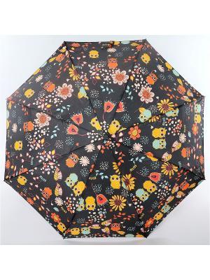 Зонт ArtRain. Цвет: черный, желтый