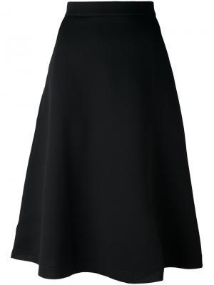 Юбка А-образного силуэта Être Cécile. Цвет: чёрный