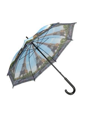Зонт-трость Mitya Veselkov. Цвет: голубой