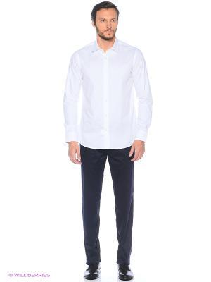 Рубашка KARFLORENS. Цвет: белый