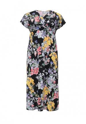Платье Lina. Цвет: разноцветный