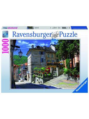 Пазл  В Пьемонте, Италия 1000 шт Ravensburger. Цвет: голубой, зеленый, коричневый