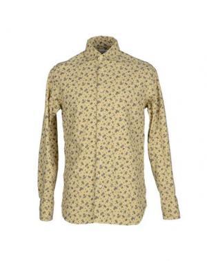 Pубашка ALAIN FRACASSÍ. Цвет: бежевый