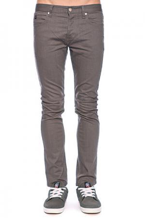 Джинсы узкие мужские зауженные  Slim Fit Jean Dark Charcoal/Twill Fallen. Цвет: серый