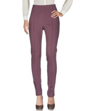 Повседневные брюки LE TRICOT PERUGIA. Цвет: розовато-лиловый
